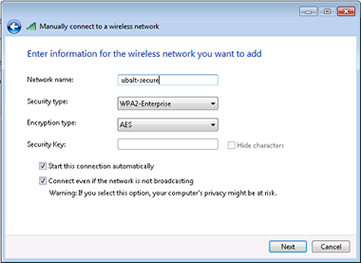 vista network settings