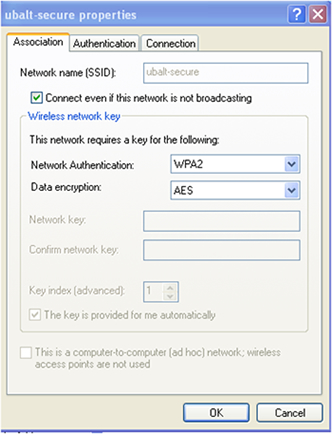 image of windows xp network settings
