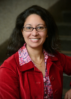 Seema Iyer, Ph.D., Associate Director of the Jacob France Institute and Research Assistant Professor