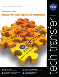 NASA's Tech transfer magazine cover