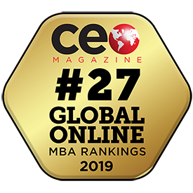 2019 CEO Magazine Ranking for Top Online MBA