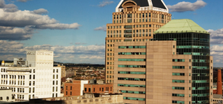 Image of the Alex Brown building in Downtown Baltimore