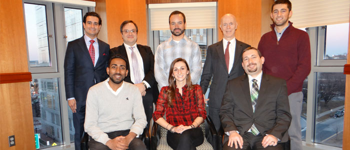 2015 MBA Verizon Case Competition winners
