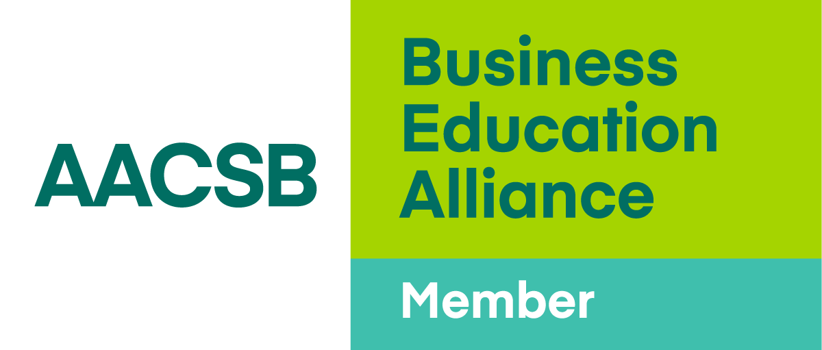 Member of the AACSB Business Education Alliance logo