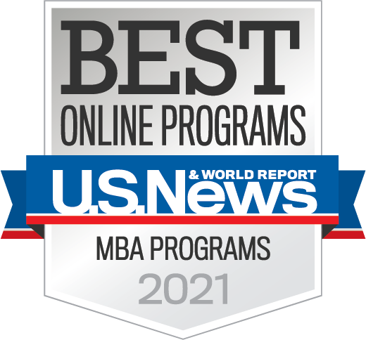 U.S. News Best Online MBA program logos