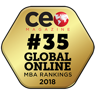 2018 CEO Magazine Ranking for Top Online MBA