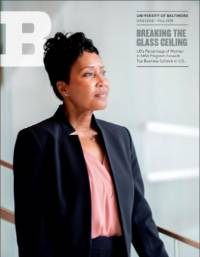 University of Baltimore Magazine Cover Fall 2018