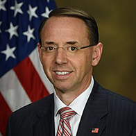 U.S. Deputy Attorney General Rod Rosenstein to Speak at UB School of Law Commencement, May 13