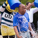 President Schmoke Takes on 'Ice Bucket Challenge,' Calls Out Others to Help in Fight Against ALS