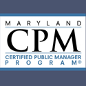 Fourth Cohort for Maryland Certified Public Manager Program Announced