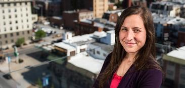 Alumni Profile: Emily Lyles, B.A. '10, M.P.A. '12