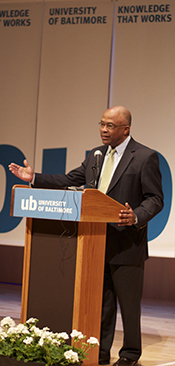Kurt L. Schmoke Named UB's Eighth President