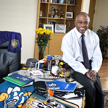 No Place Like Home: How Kurt L. Schmoke Found His Way Home to Charm City … and to UB