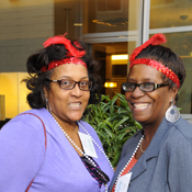 Yasmin N. Harris, M.S. '83, and Lillian J. Carter, B.S. '99