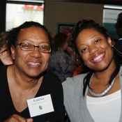 9. Loretta D. Brown, B.A. '00, and Latoya B. Green, B.S. '08