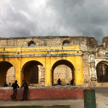 Ruins in Antigua