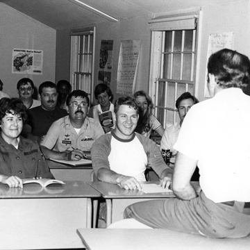 The photo in our last issue sparked some fond memories of a criminal justice class at Fort Meade.