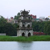 Thap Rua temple in Hanoi, Vietnam