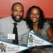 Anthony Brown and Linda Mitchell, B.S. '13