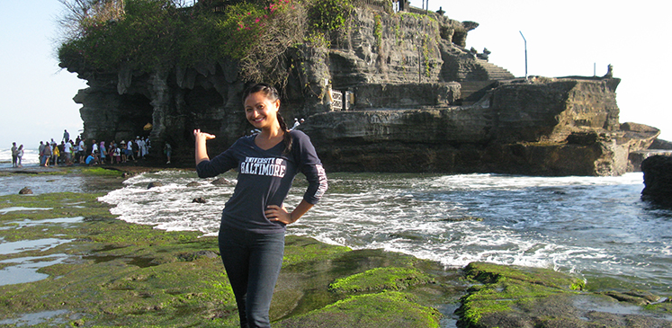 Stacey Stube in Bali