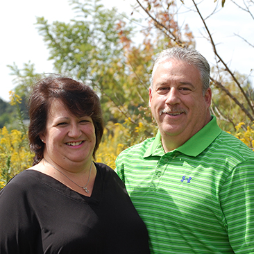 Cindy and Jeff Schuster