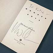 Chabon's autograph