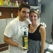 Dimitri Komninos and his wife