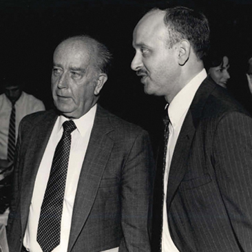 Donald Schaefer and Laslo Boyd