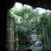 "Craig Propert, ""Cenote cerca de Chitzen Itza"""