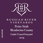 Russian River Vineyards Petite Sirah