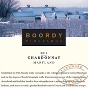 Boordy Vineyards Chardonnay 2010