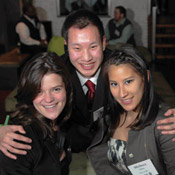 Amanda Grant, Jesse M. Pulliam, B.S. '10, and Melissa A. Chen, B.S. '11