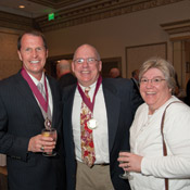 Vincent D. Pfeifer, B.S. '84; Thomas P. (B.S. '84) and Kimberly K. McDonnell