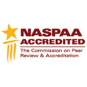 NASPAA Accredited logo