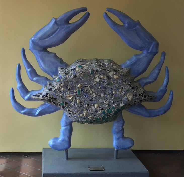 Crab in LC Lobby