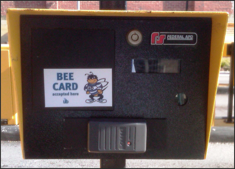 parking card reader