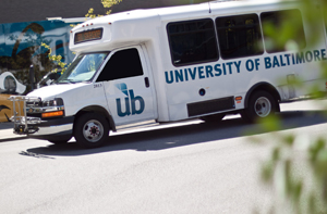 The University of Baltimore Shuttle