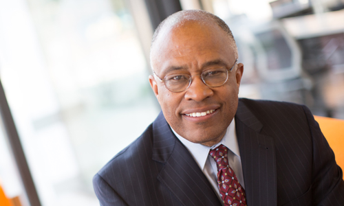 Kurt Schmoke, president of the University of Baltimore