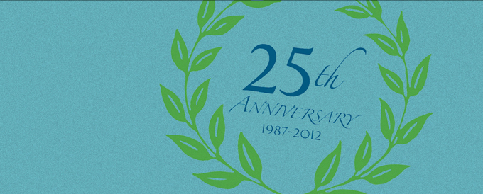 25th Anniversary Header