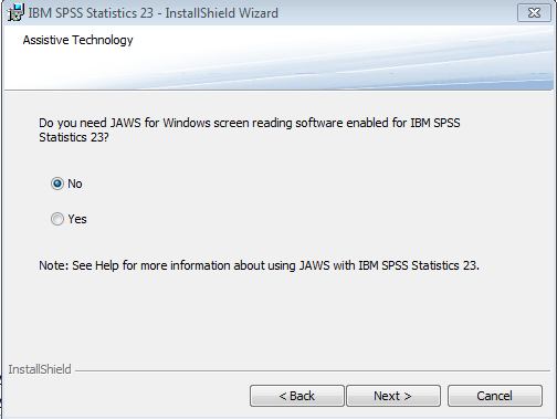 spss install step