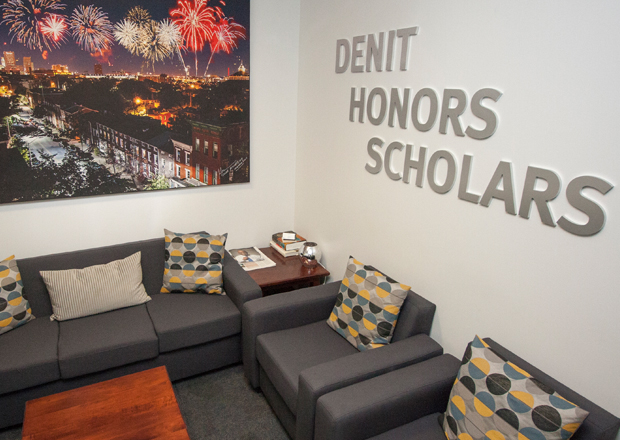 Denit honors lounge