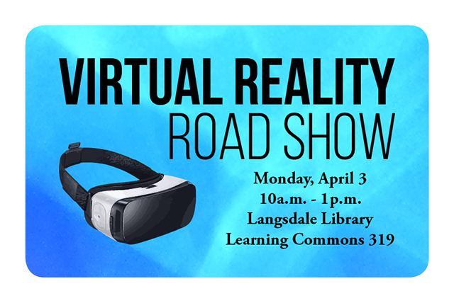Virtual Reality Road Show @ Langsdale