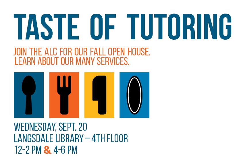 Taste of Tutoring: ALC Open House