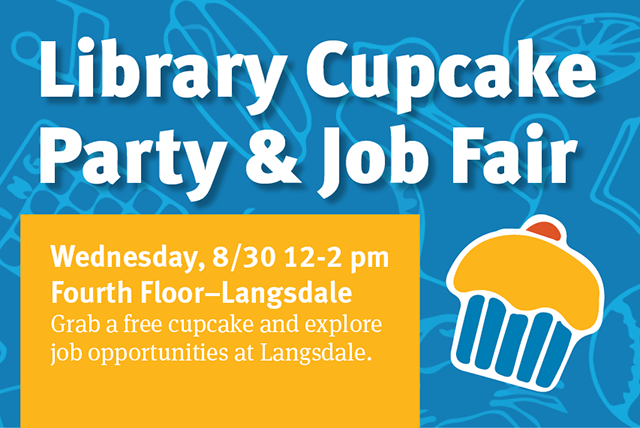 Library Cupcake Party & Job Fair