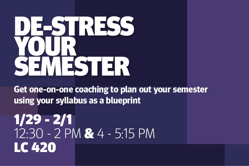 De-Stress Your Semester