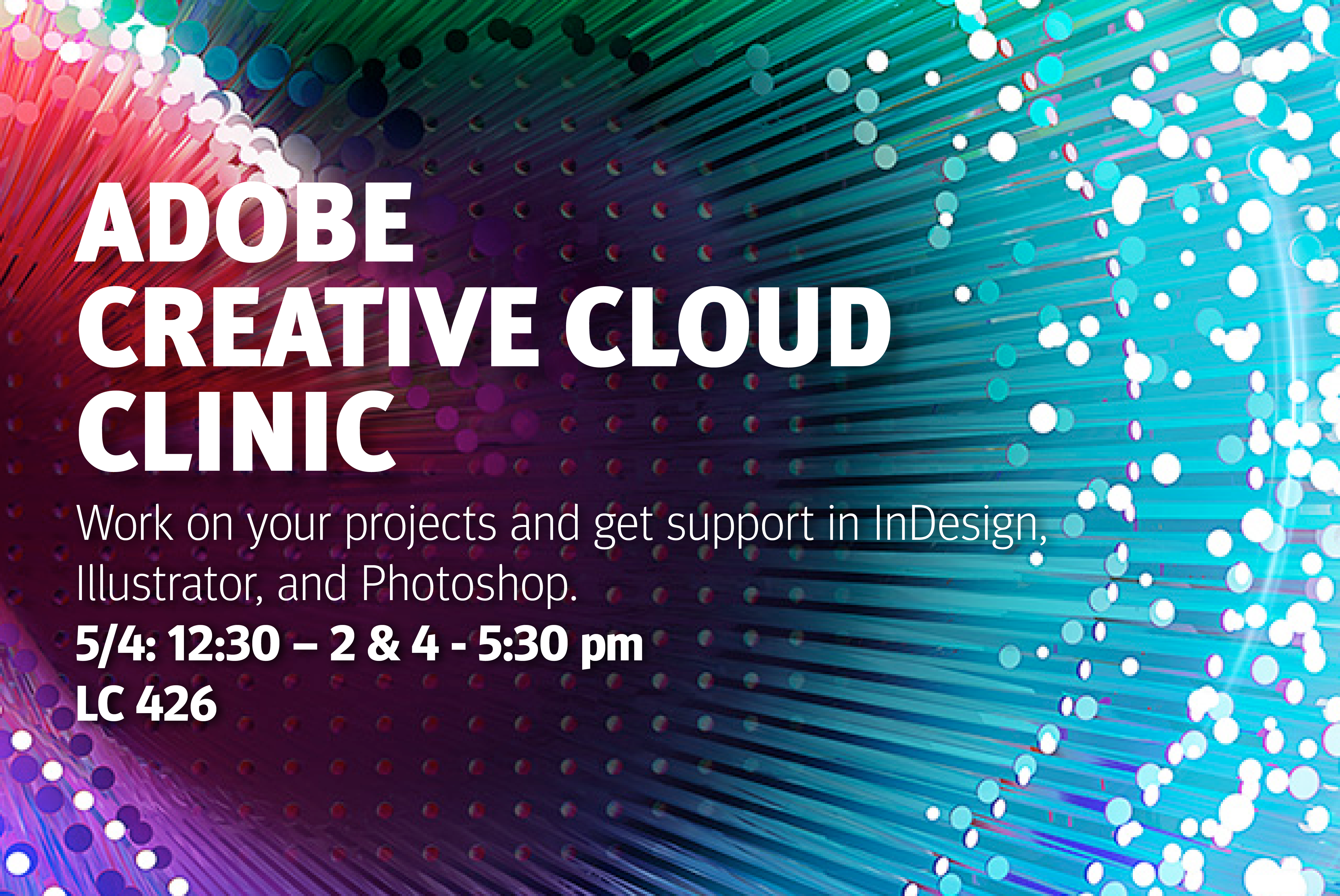 Adobe Creative Cloud Clinic
