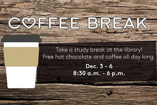 Coffee Break: free coffee/hot chocolate at Bogomolny library