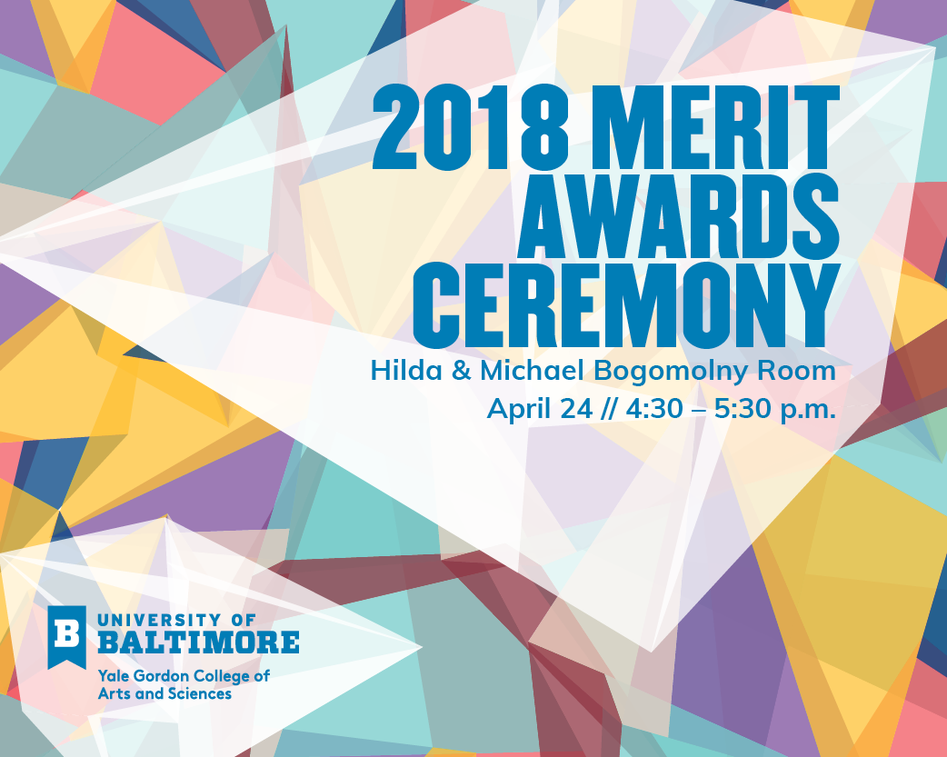 Yale Gordon College of Arts and Sciences 2018 Merit Awards Ceremony