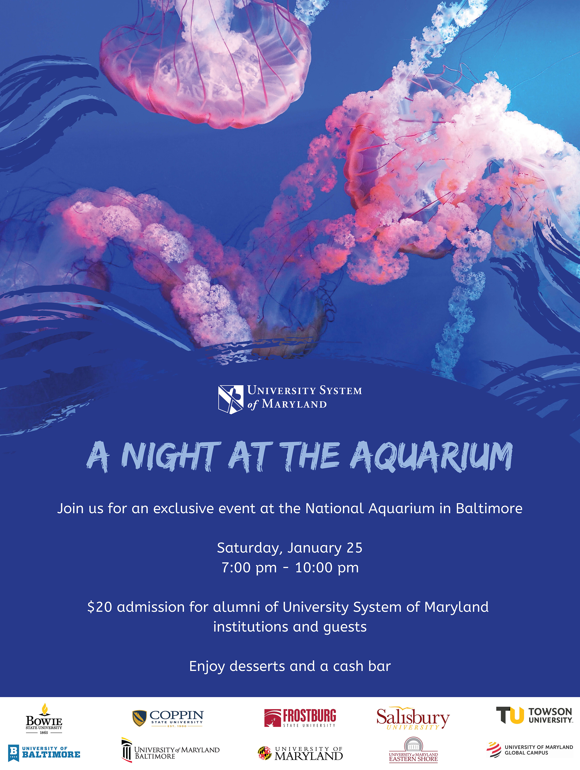 ALUMNI Night at the Aquarium
