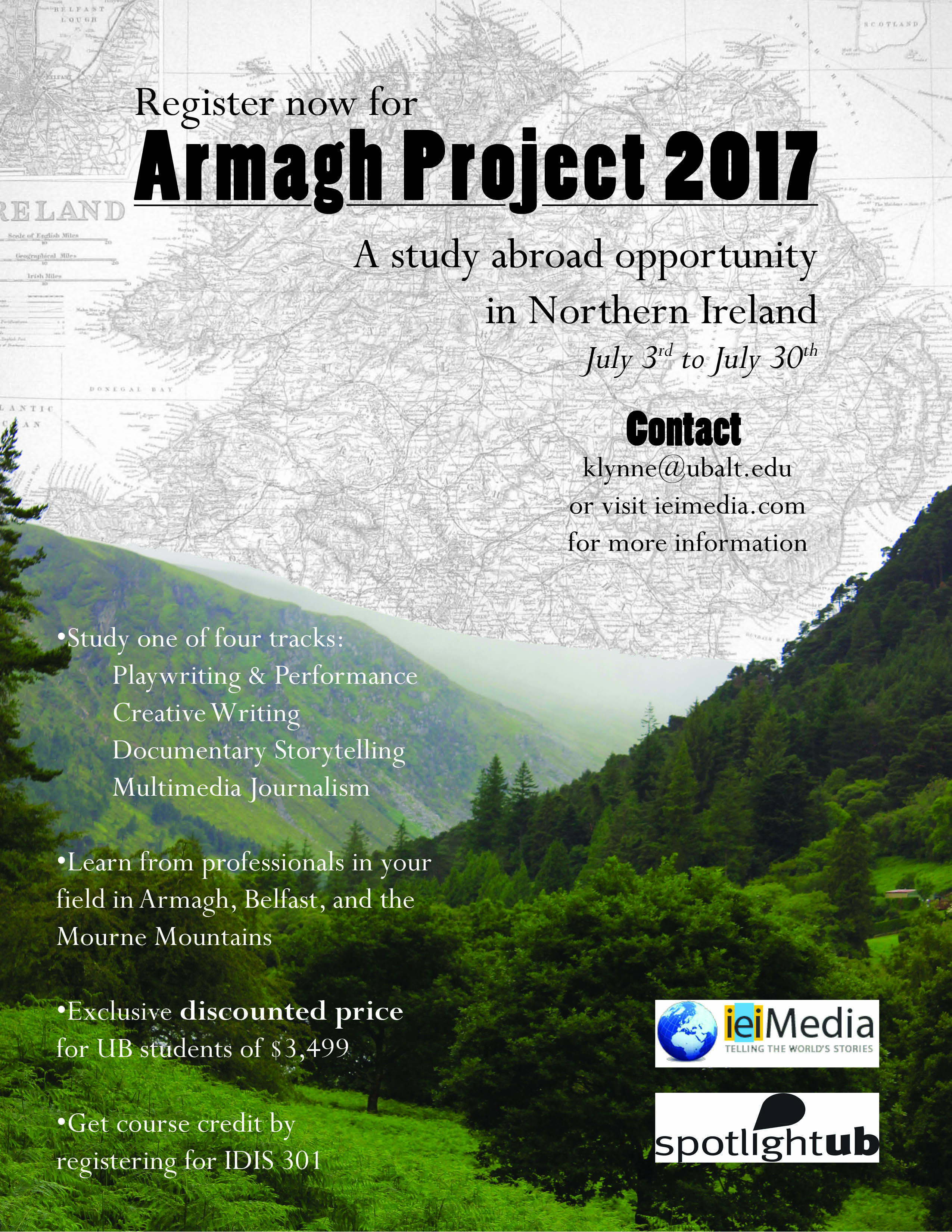 Armagh Project 2017 Interest Meeting